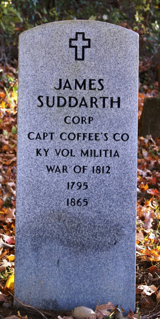 New Gravestone for James Suddarth
